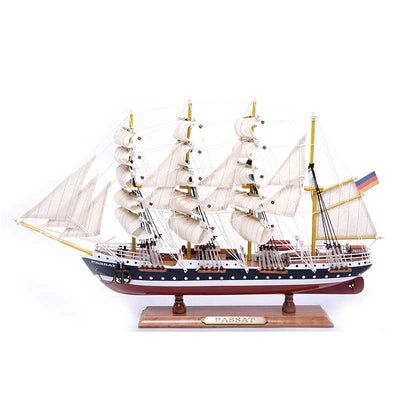PASSAT Sailing Ship Model, 1/230 Scale - WOODLIVE