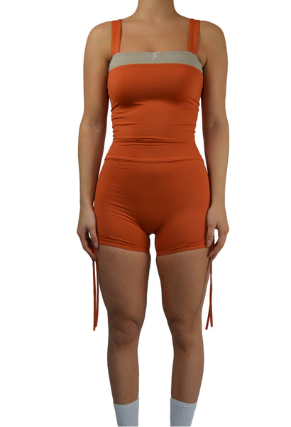 Fenzi swim legging kort short burned orange