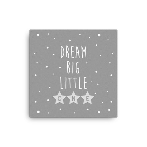 "16X16"" Dream Big Little One Canvas Print"
