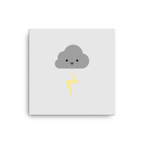 "16X16"" Thundercloud Canvas Print"