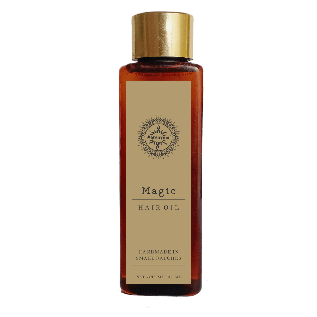 Magic Hair Oil-Hair Oil For dry Scalp-Damaged Hair - aaranyam.com