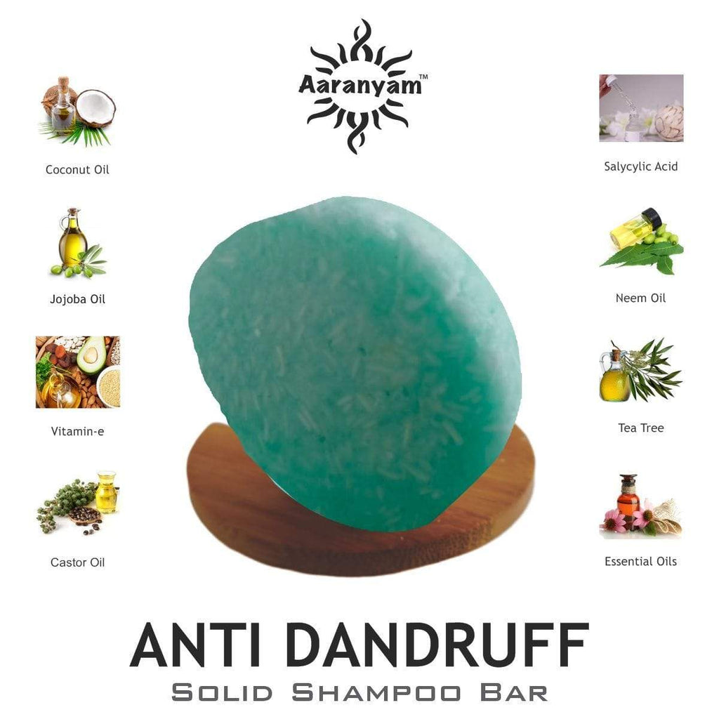 aaranyam.com hair care Anti Dandruff -Solid Shampoo Bar