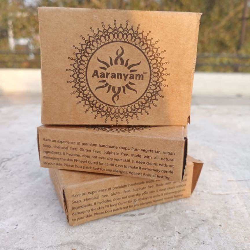 Herby Power Hand Made Organic Shampoo soap - aaranyam.com