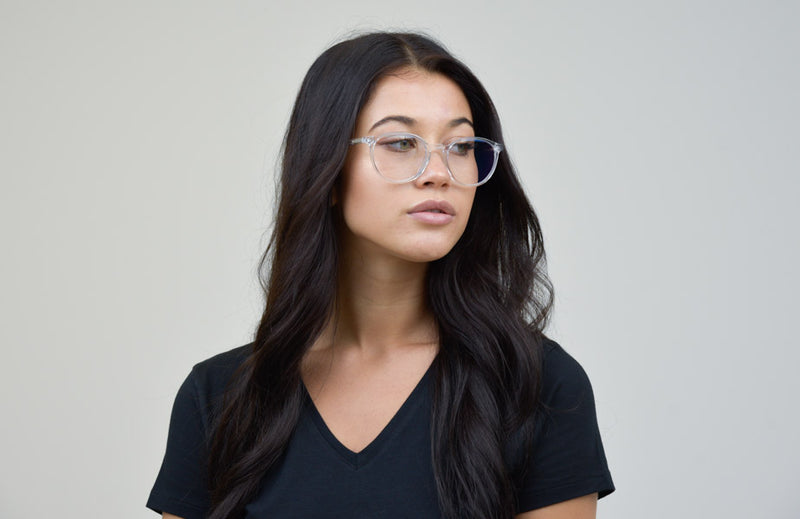 Bay Round Crystal Clear Glasses