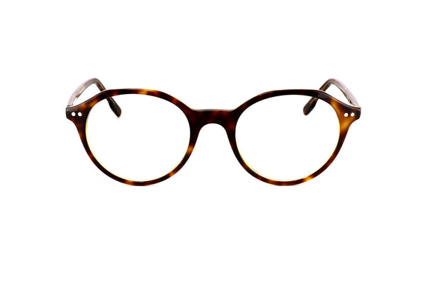 Blair Blue Round Tortoise Shell Glasses