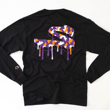 "Load image into Gallery viewer, Champion x Strad Camo ""S"" Drip Long Sleeve"
