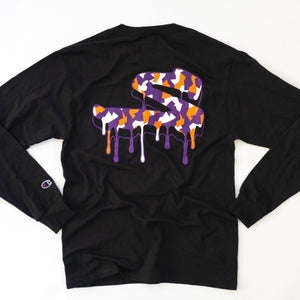 "Champion x Strad Camo ""S"" Drip Long Sleeve"