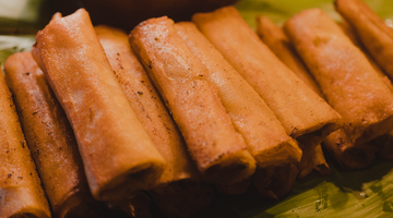 RECIPE: VENISON LUMPIA BY JORDAN CABATIC