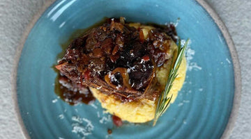 RECIPE: SOUS VIDE VENISON OSSO BUCCO BY RICH MALLOY
