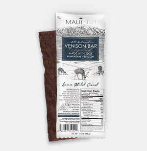 Small Venison Snacks Combo Pack