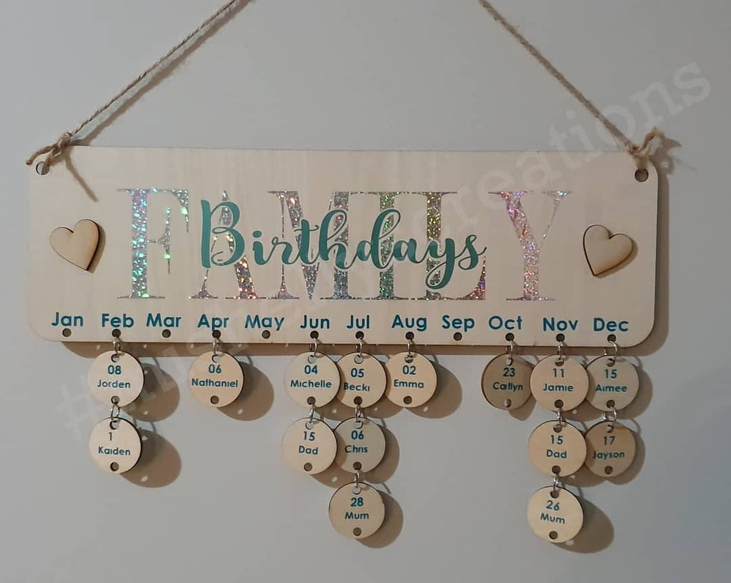 Birthday / Celebration Board