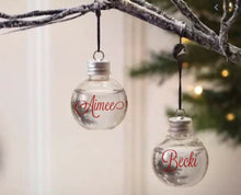 Load image into Gallery viewer, Booze Christmas Baubles