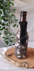 Camo Bottle Coolers