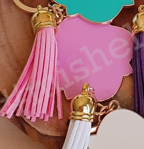 Tassel Key Rings - Enamel
