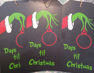 Christmas Countdown Chalkboards