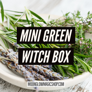 Mini Green Witch Box