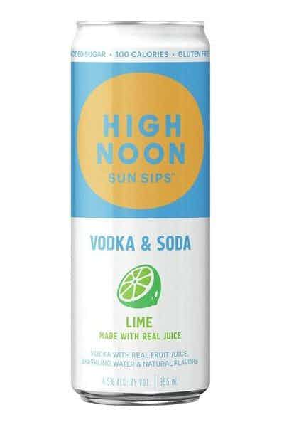 High Noon Hard Seltzer Lime