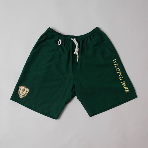 MP-800-WP2 : EMBROIDERED BADGE TENNIS SHORTS