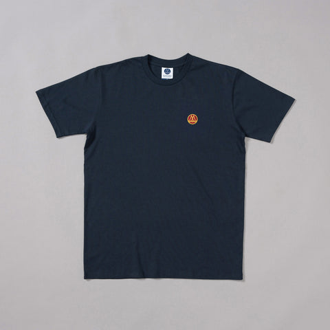 MP-001-L4 : S/S EMBROIDERED LOGO  T-SHIRT