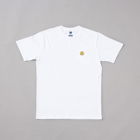 MP-001-L5 : S/S EMBROIDERED LOGO  T-SHIRT