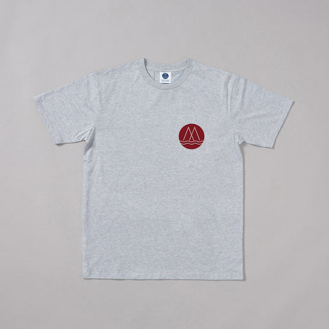 MP-001-P8 : S/S LOGO PRINTED T-SHIRT