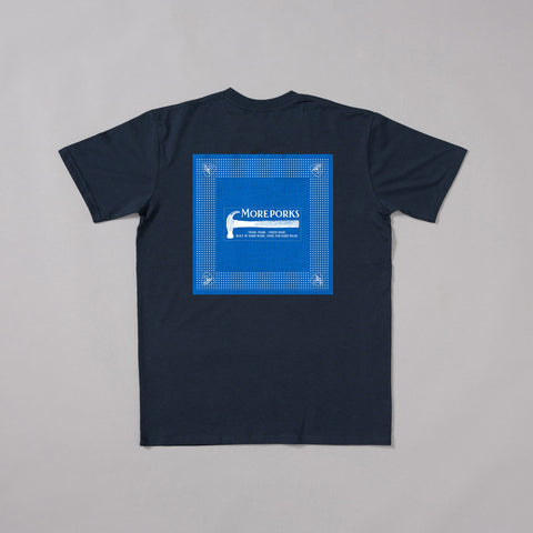 MP-001-PB1 : S/S PATCHED T-SHIRT