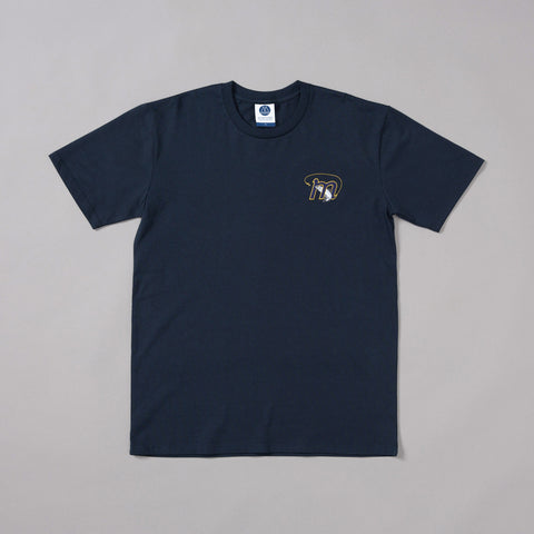 MP-001-SH1 : S/S EMBROIDERED T-SHIRT