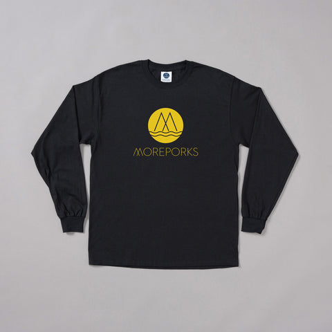 MP-002-M3 : L/S LOGO PRINTED T-SHIRT