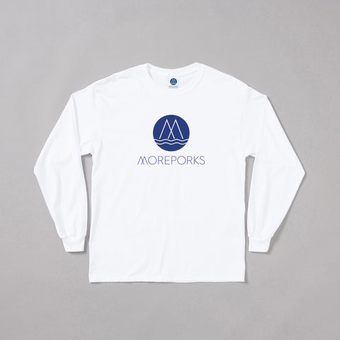 MP-002-M4 : L/S LOGO PRINTED T-SHIRT