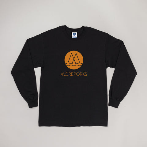 MP-002-M5 : L/S LOGO PRINTED T-SHIRT