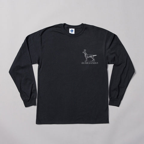 MP-002-MBF1 : Screen printed L/S T-Shirt