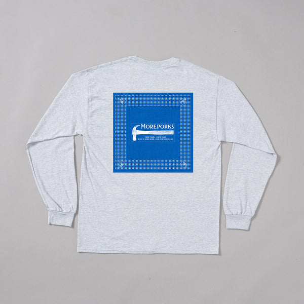 MP-002-PB2 : L/S PATCHED T-SHIRT