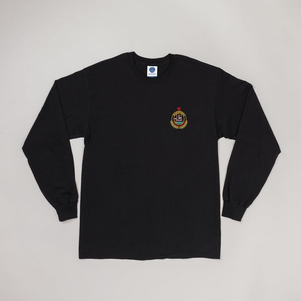 MP-002-RC1 : L/S RUGBY EMBROIDERED T-SHIRT