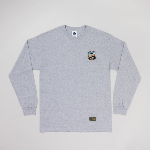 MP-002-SK : L/S BADGED T-SHIRT