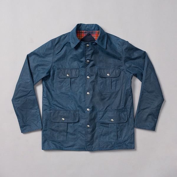 MP-210-CR : Waxed cotton cruiser jacket
