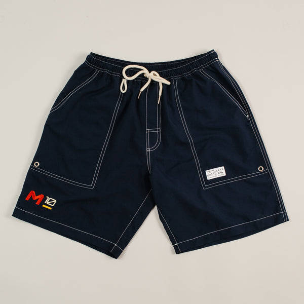 MP-800-M3 : EMBROIDERED SAILING SHORTS