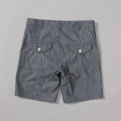 MP-850-D2 : DENIM UTILITY SHORTS