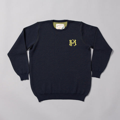 MP-400-W2 : Merino Crew Neck Jersey