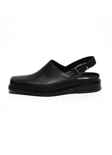 Square Toe Slip On Boots