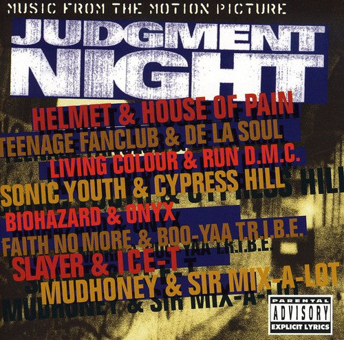 Judgment Night - Music From the Motion Picture  (New CD)
