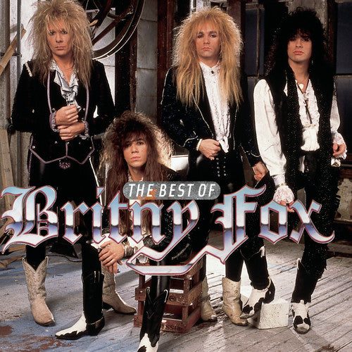 Britny Fox - The Best of Britney Fox  (New CD)