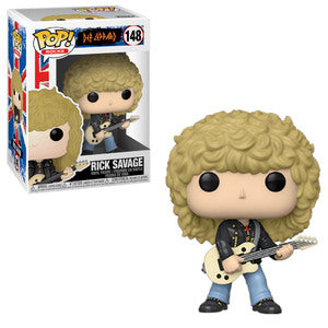 Def Leppard - Rick Savage (Funko Pop)