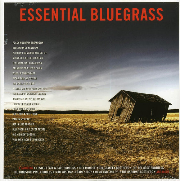 Various Artists ‎- Essential Bluegrass  (New Vinyl LP)