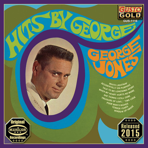 George Jones - Hits By George  (New CD)