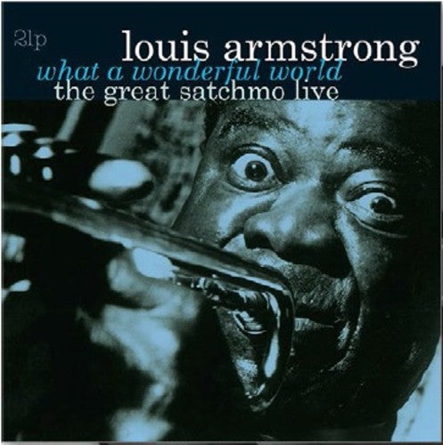 Louis Armstrong - What a Wonderful World-The Great Satchmo Live [Import]  (New Vinyl LP)