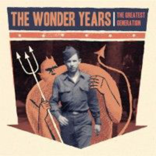 The Wonder Years - The Greatest Generation  (New Vinyl LP)