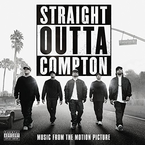 Straight Outta Compton - Music From the Motion Picture  (New Vinyl LP)