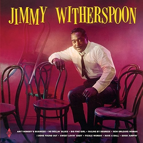 Jimmy Witherspoon - Jimmy Witherspoon + 2 Bonus Tracks [Import]  (New Vinyl LP)