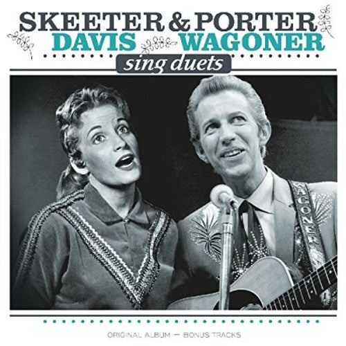 Porter Wagoner And Skeeter Davis - Sings Duets + Bonus Tracks  (New Vinyl LP)