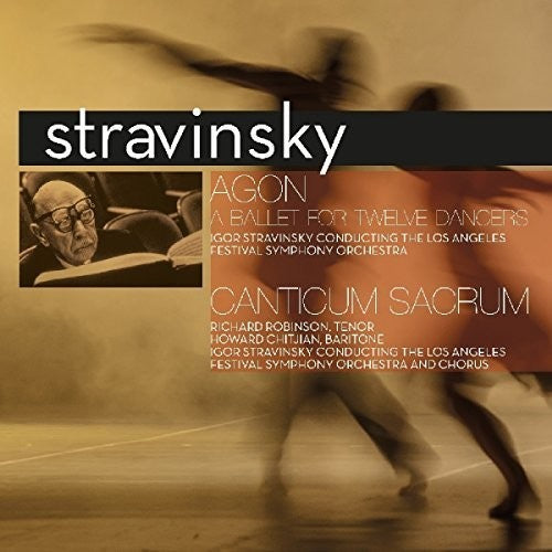 Igor Stravinsky - Agon: Ballet For Twelve Dancers  (New Vinyl LP)